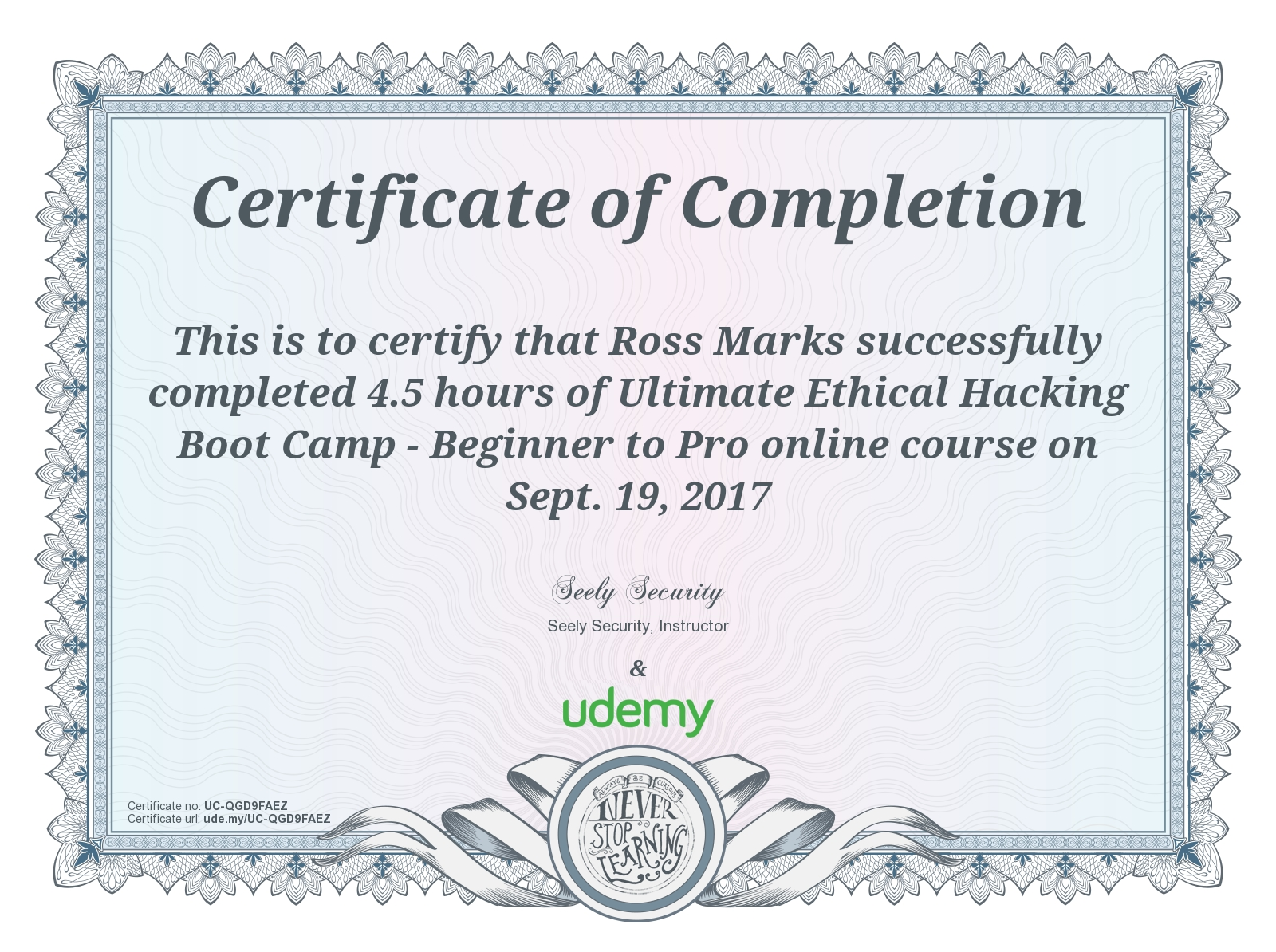 ethical hacking bootcamp